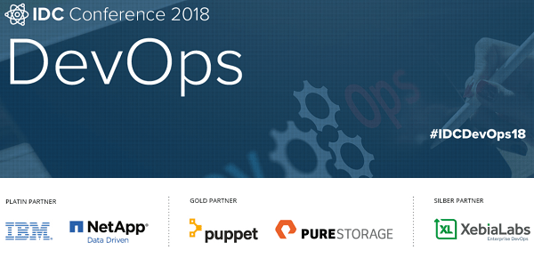 IDC DevOps Conference 2018 am 18.10. in München #IDCDevOps18